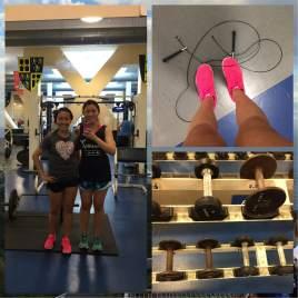 2 girls, 1000 jumps.